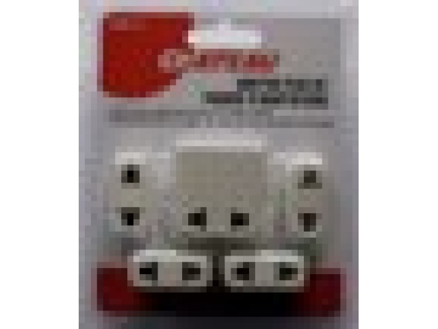 Foreign travel adaptor plug set or 5