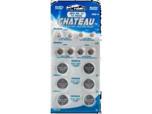 Button cell batteries pack of 14 Assorted