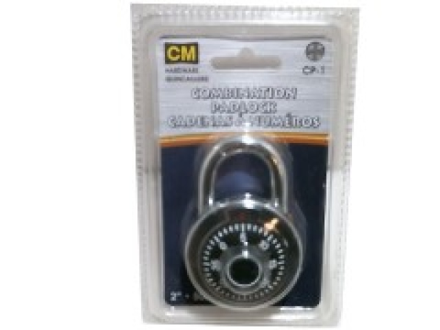 Combination Padlock 50mm 2 inch 40 digit