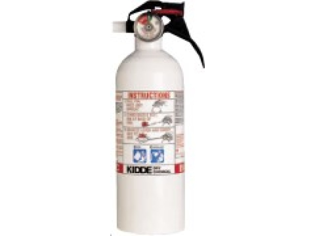 Fire extinguisher white kit/garage sub 83066294