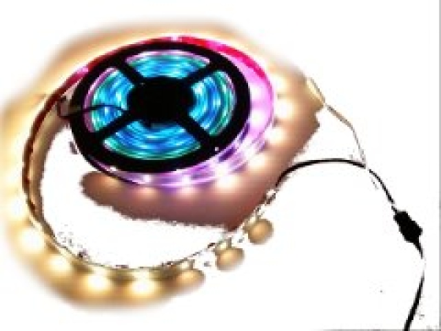 LED strip chip RGB 5M 16feet 30 LEDs per M IP67 waterproof 7.2W multicolour-patterns